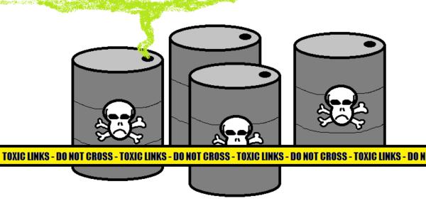 Toxic Links Graphic