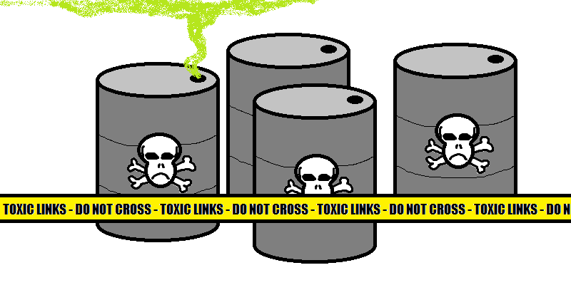 Toxic Links Graphic