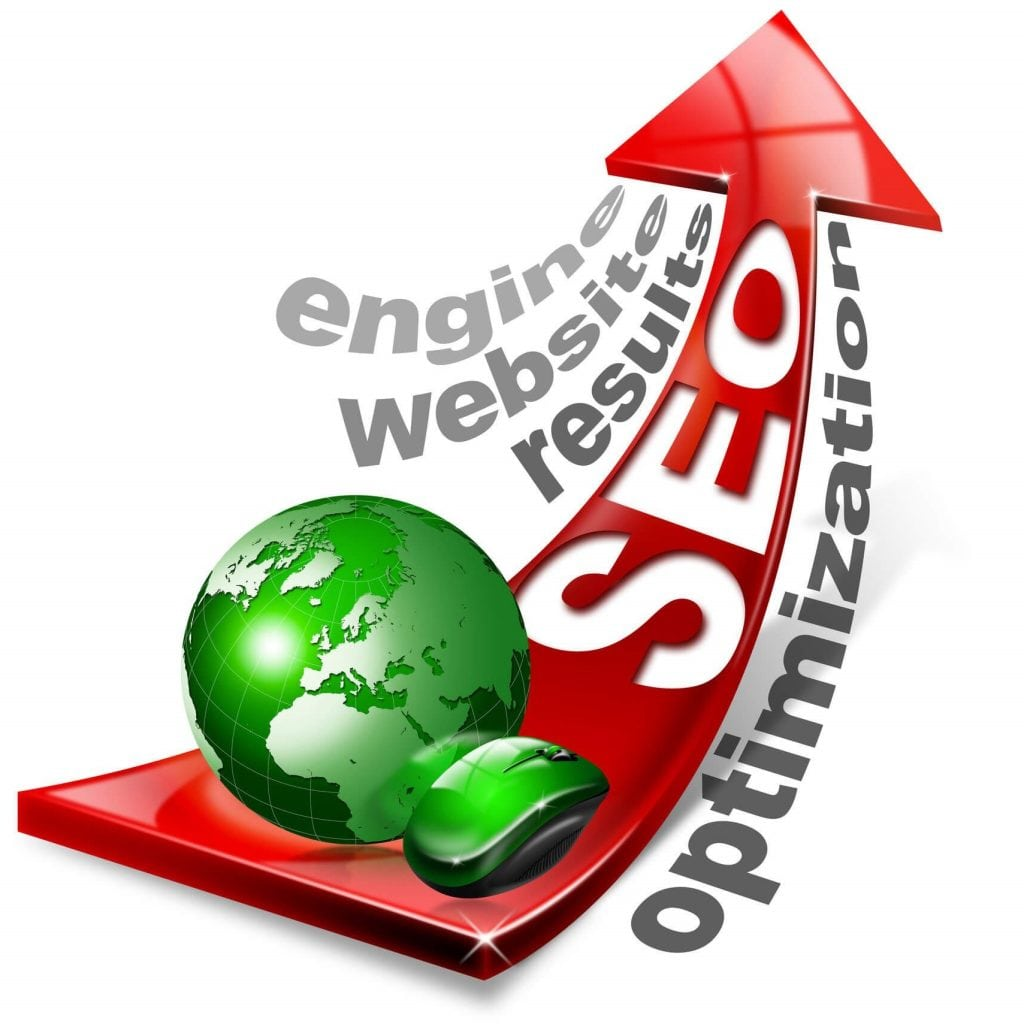 Search Engine Optimization rankings going up