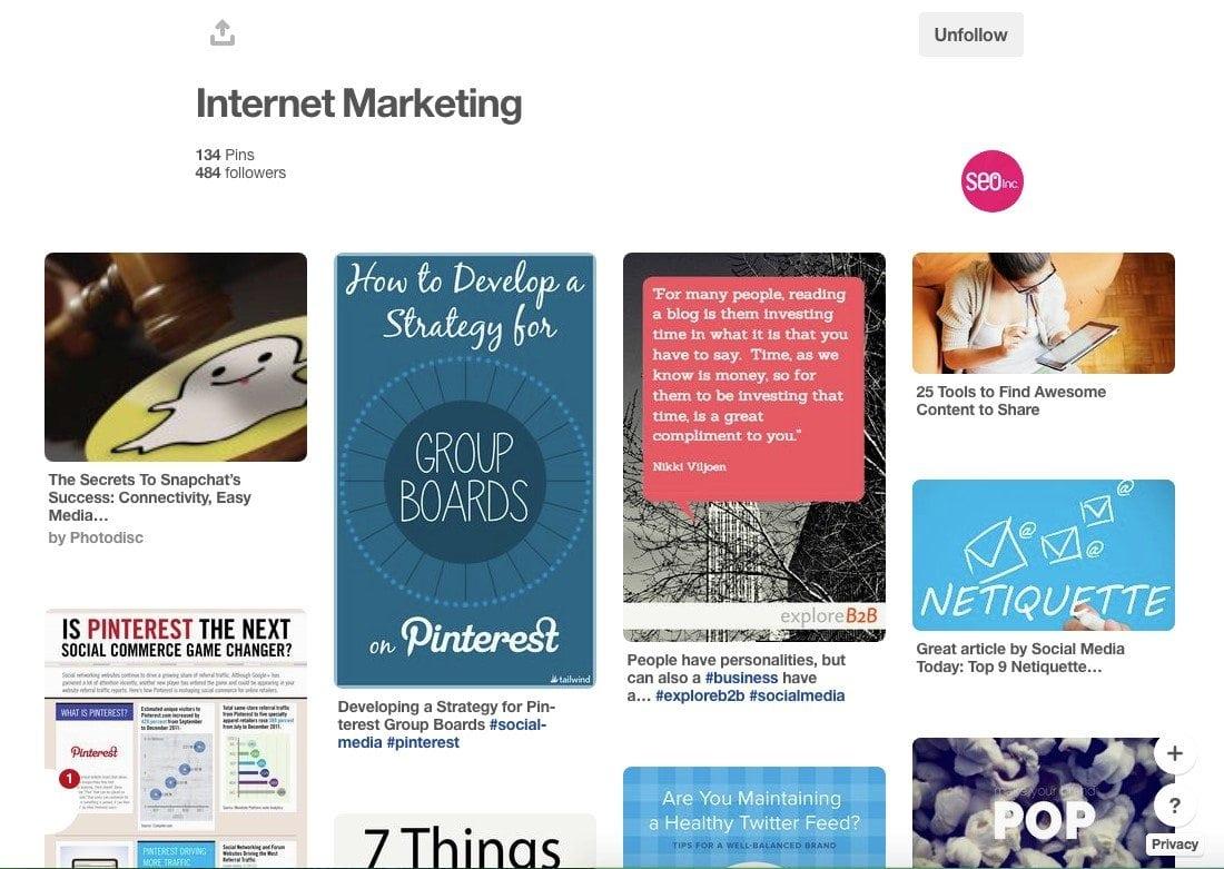 Pinterest for SEO and Social Media
