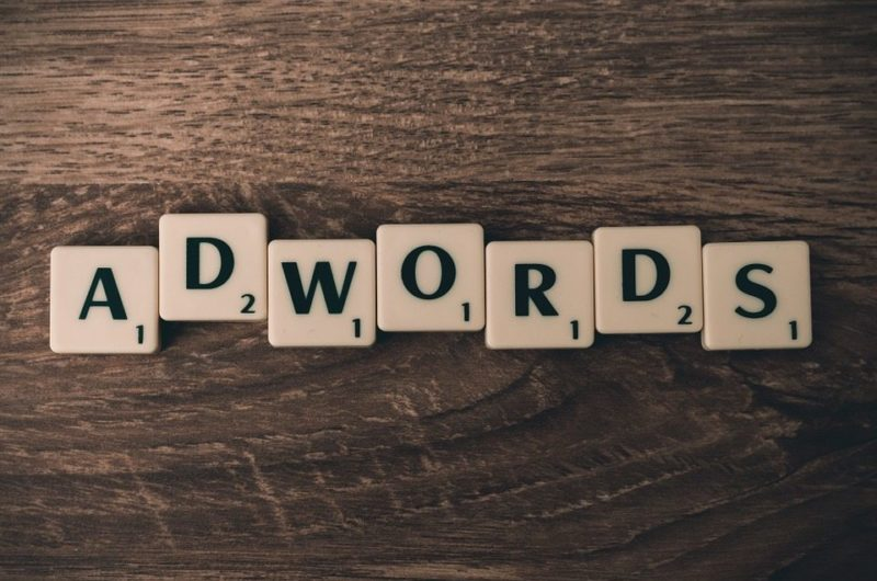 Adwords In Scrabble Tiles