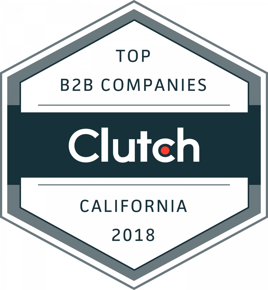 clutch top b2b companies california 2018 award