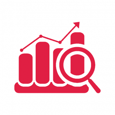 SEO upward graph icon