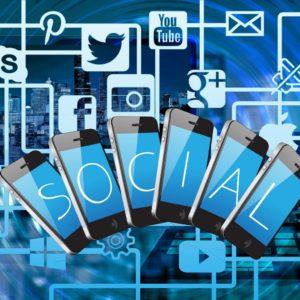 multiple social media platforms graphic