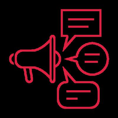 Testimonials Megaphone Icon
