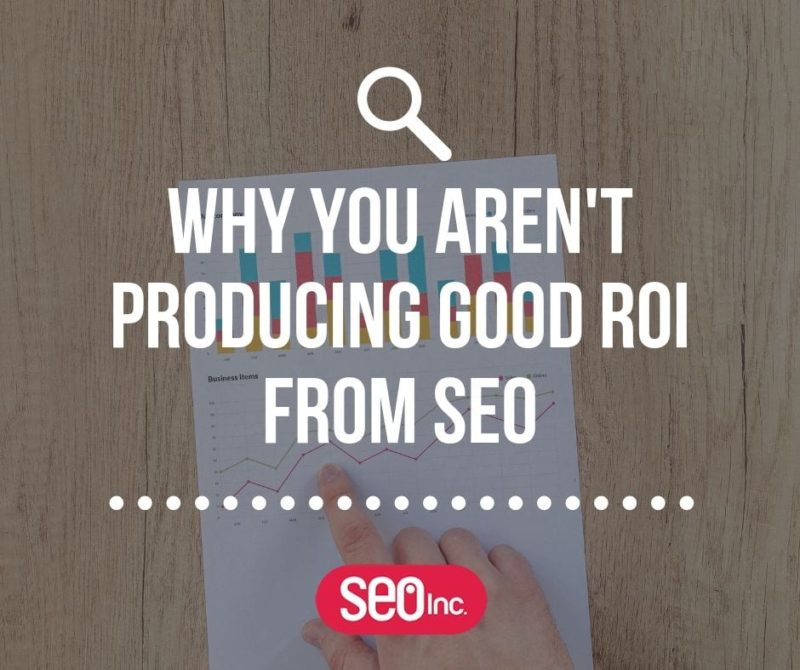 ROI and SEO