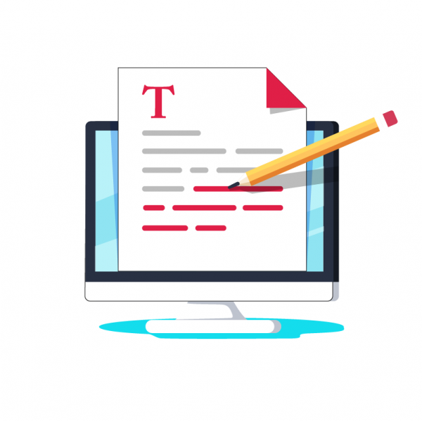 Paper, Text, Link Building Graphic