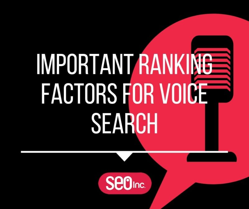 Voice Search Ranking