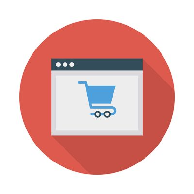 E commerce online shopping browser