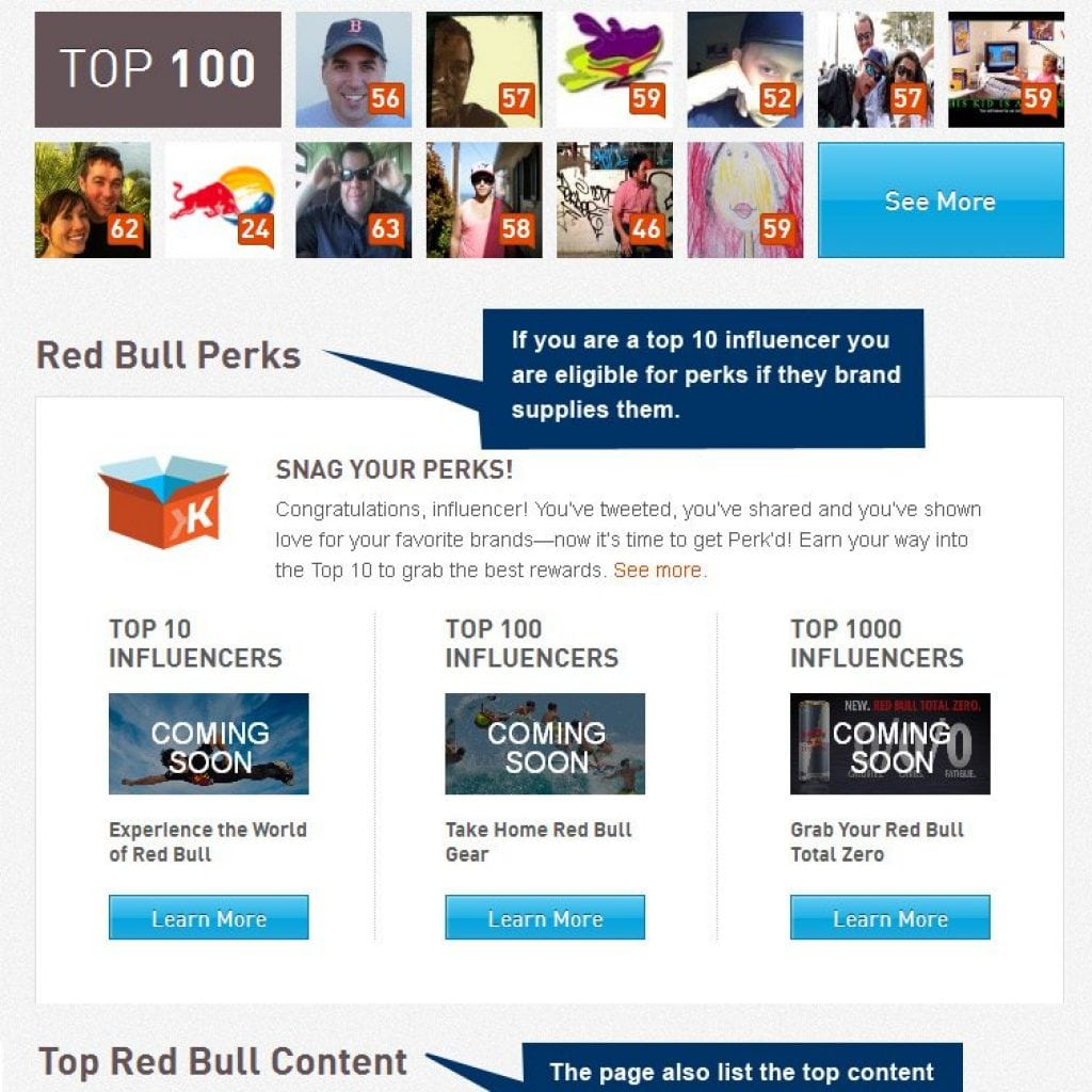 Klout Brand Pages