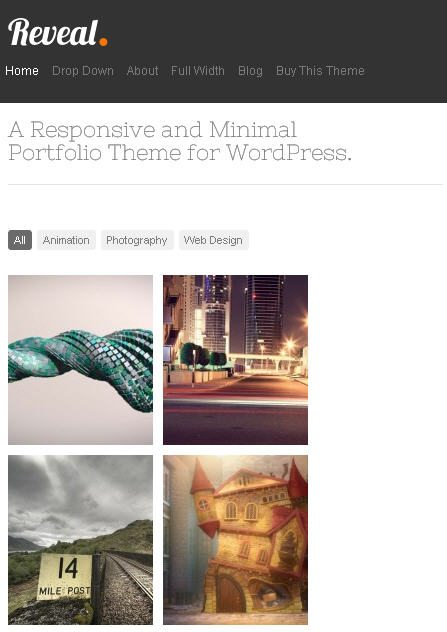 Responsive Design for Mobile Resized
