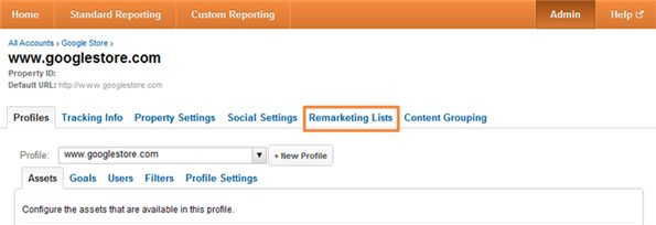 Remarketing With Google Analytics