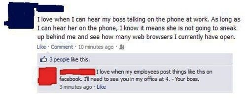 Facebook at Work BUSTED