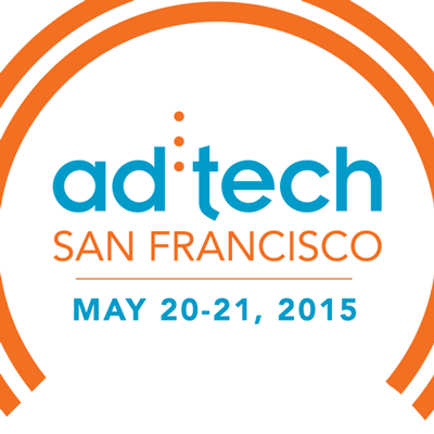 Logo for ad:tech San Francisco, May 20-21, 2015.