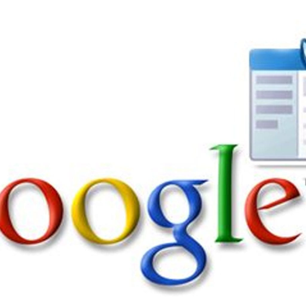 The colorful Google logo, accompanied by an icon of Webmaster Tools, a wrench laid over an internet browser.