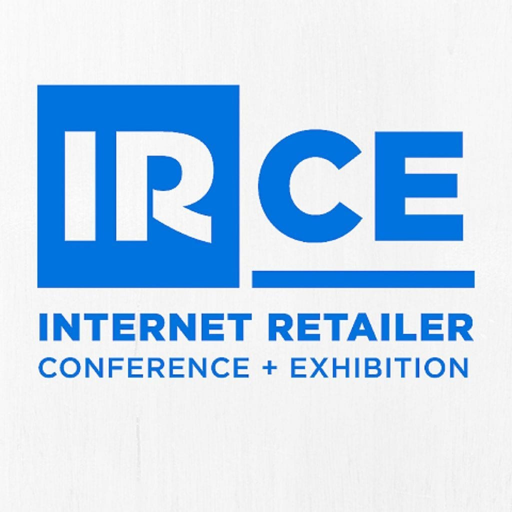 The logo for the Internet Retailer Conference and Exhibition.