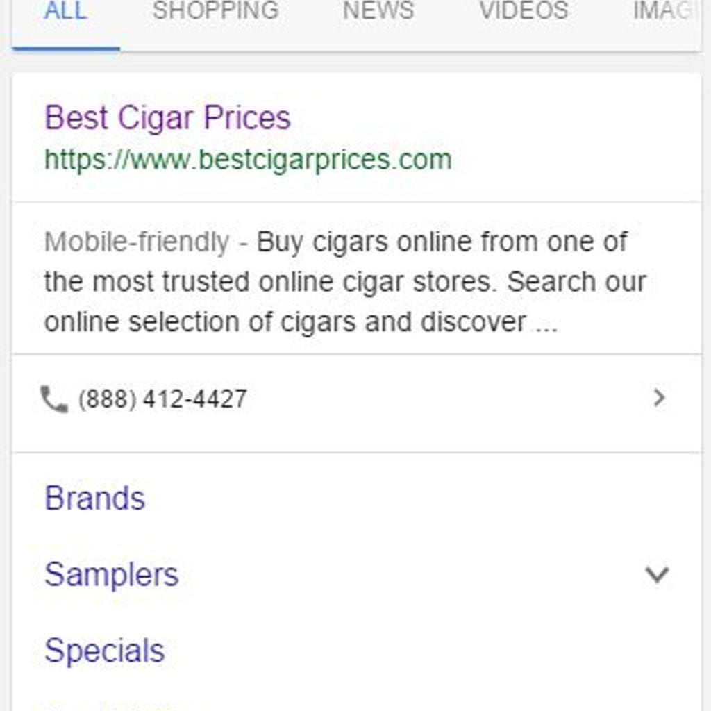 Click-to-call phone numbers have begun showing up in organic search results.