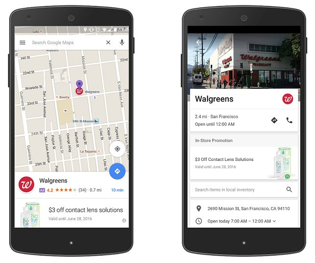 "Google ads changes will also include ""promoted pins,"" which can show up in search results on Maps."