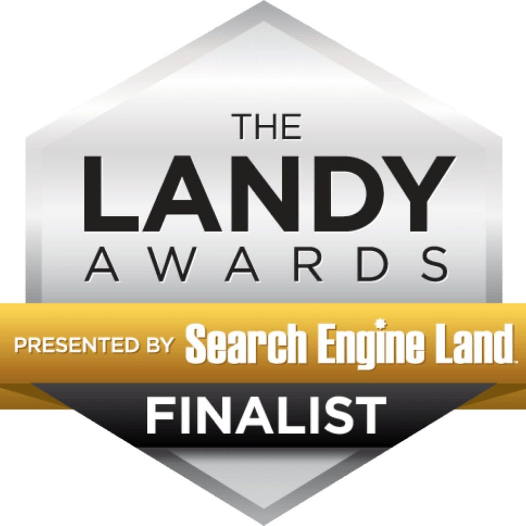 2016 Landy Awards for Agency of the Year - SEO!