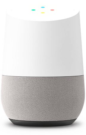 Google Home features the intelligent software Google Assistant, which will act as an everyday component similar to Amazon Echo.