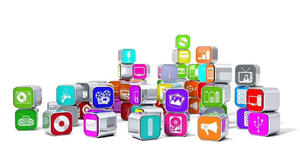 multimedia different types of media icons