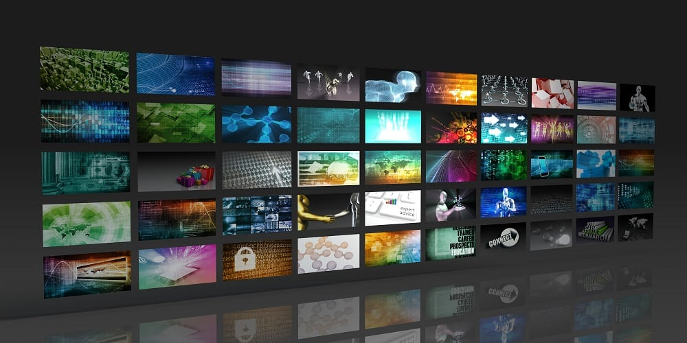 digital image gallery wall