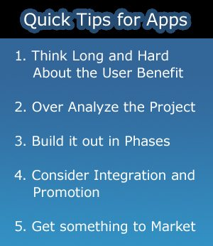 Web Application Tips
