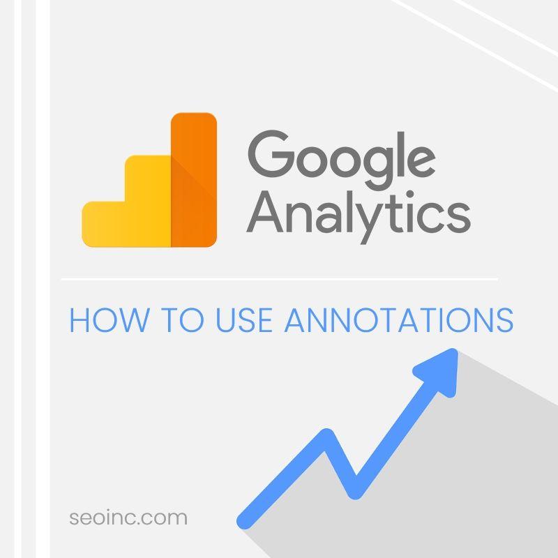 Annotations Google Analytics