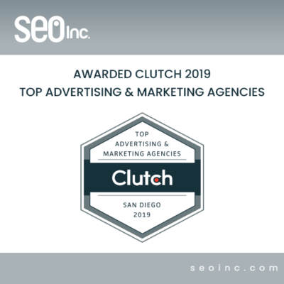 clutch SEO INC2019