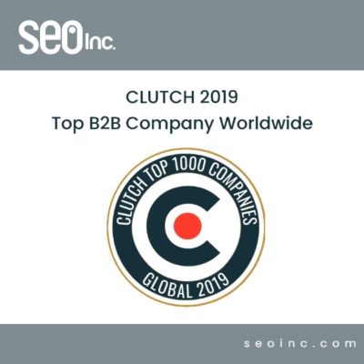 clutch-SEO-INC 2019