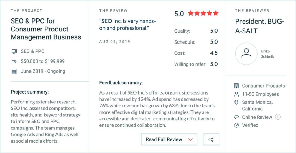Best SEO Company reviews